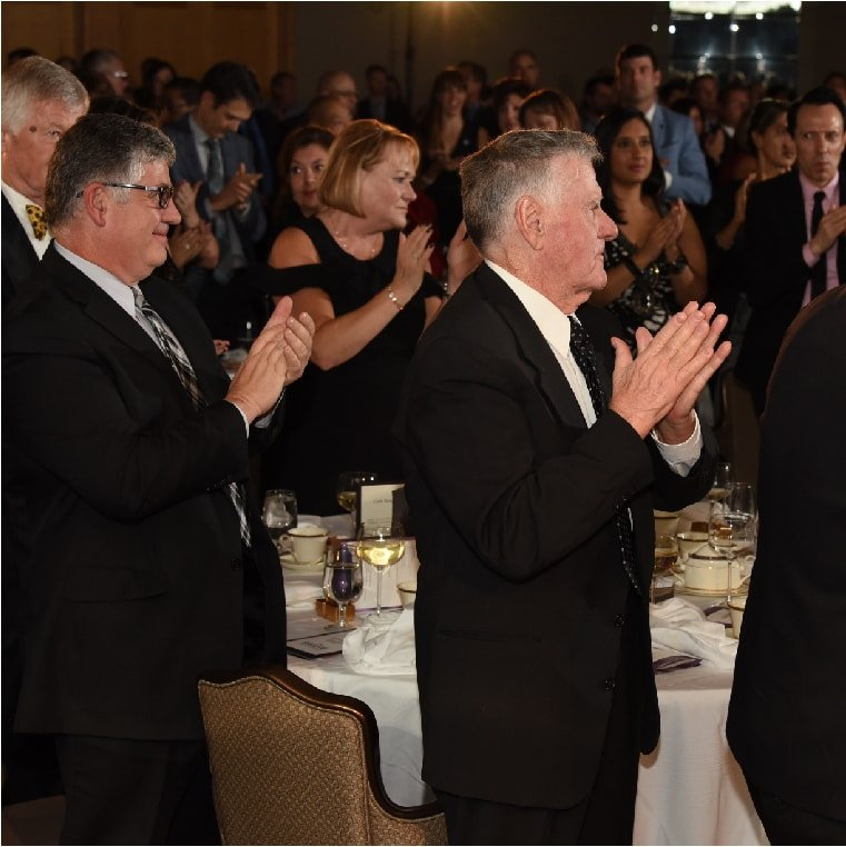 A standing ovation at the 2017 Salute BC gala