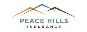 Salute BC Silver sponsor logo for Peace Hills Insurance